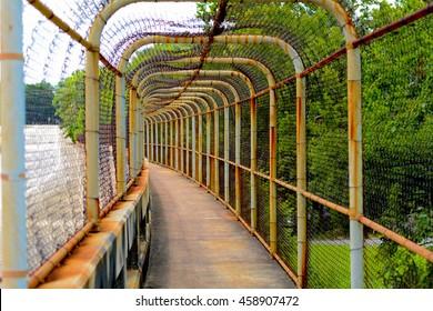 Chain Link Walkway