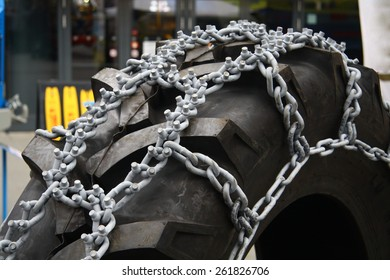 Chain on the wheel