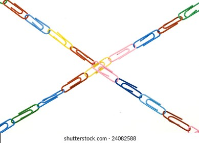 chain from paper clips