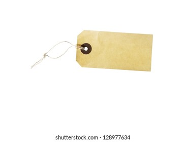 Chain, plate, labels, thread, twine, string,