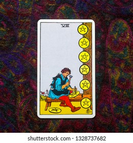 Eight of Pentacles Images, Stock Photos & Vectors | Shutterstock