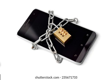 a chained smartphone - data protection concept