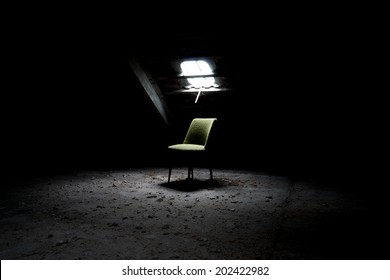 Chair in an abandoned room / Chair