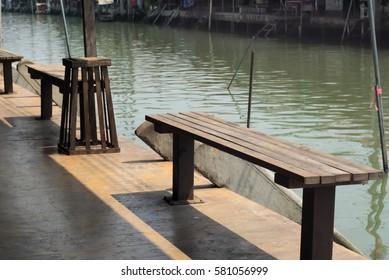 Chair canal in Thailand