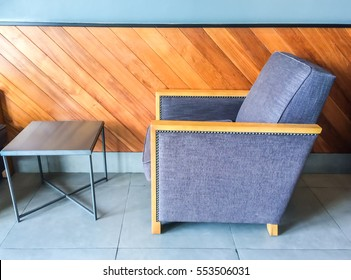 Chair in coffee cafe