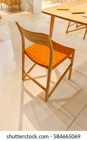 chair for the home, note shallow depth of field