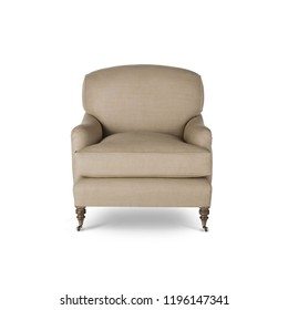 Chair isolated on white background. Series of furniture, Armchair, furniture for different spaces