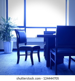 The chair of the meeting room
