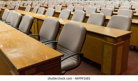 chair In meeting room