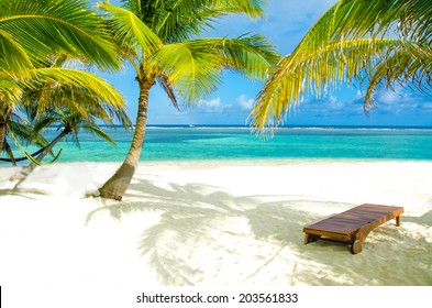 Chair on beautiful island - Recreation