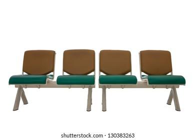 Chair public in building furniture