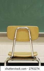chair in school