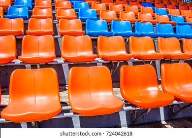 Chair in the stadium