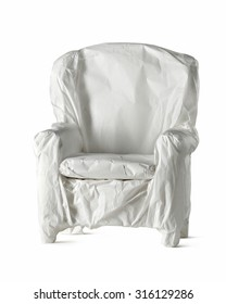chair wrapped