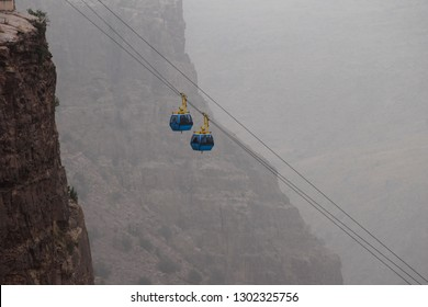 Chairlifts at Al Habala Park mountain