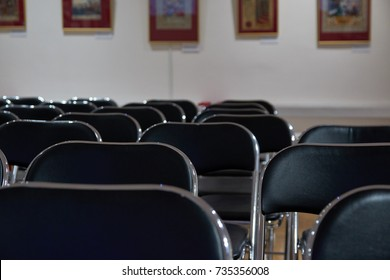 chairs for the audience