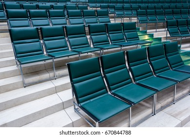 Chairs for concerts and lectures