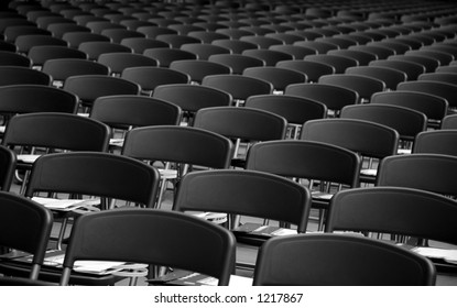 Chairs in a conference