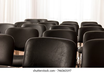 Chairs in the conference room
