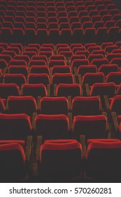 chairs on theater, cinema