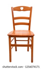 Chairs on white background