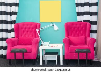 Miraculous Pedicure Chair Images Stock Photos Vectors Shutterstock Machost Co Dining Chair Design Ideas Machostcouk