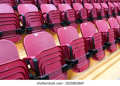 chairs from the rostrum of fans