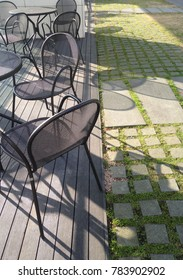 Chairs with shadow