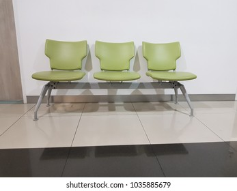 Chairs for sit waiting meet doctor at hospital
