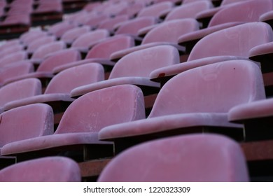 chairs in sport stadium