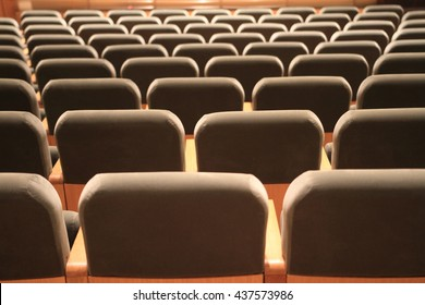 chairs in theaters or cinemas