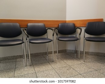 Chairs in a waiting area