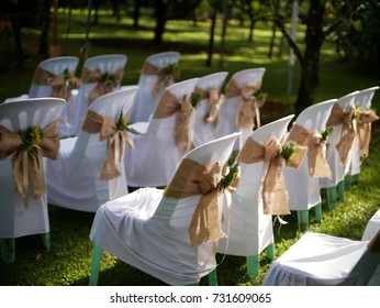 Chairs in Wedding