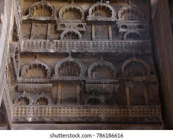 Chaitya arches, Karla Caves Pune dist. Maharashtra, India.