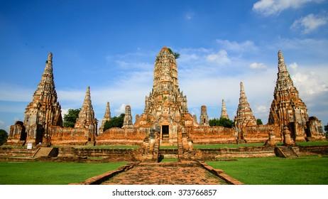 Chaiwattana Temple, Thailand