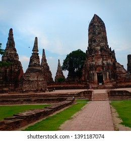 Chaiwatthanaram Temple Phra Nakhon Si Ayutthaya District Phra Nakhon Si Ayutthaya Province, Thailand