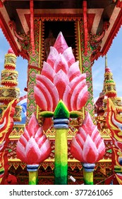 Chak Phra tradition of YALA After a round in which every year.The decorated boats will be made to bring the contest. Is an important one for the YALA. ceremony in southern Thailand. Buddhist tradition