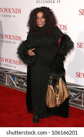 Chaka Khan   at the Los Angeles Premiere of 'Seven Pounds'. Mann Village Theatre, Westwood, CA. 12-16-08