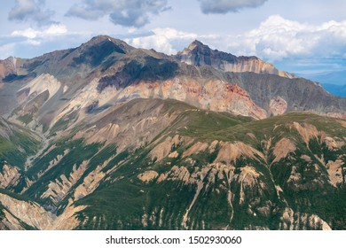 Chalcedony Mountain in Kluane National Park, Yukon, Canada