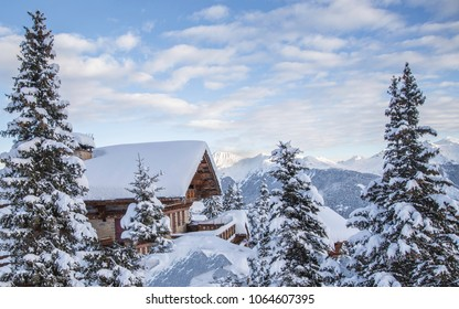 Chalet Courchevel Snow Winter Travel Ski Resort