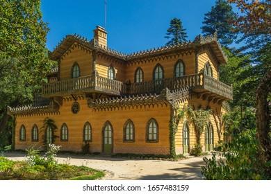 Chalet da Condessa d´Edla in Pena Park, Sintra