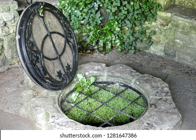 The Chalice Well, also known as the Red Spring, is a well situated at the foot of Glastonbury Tor Somerset, England. The natural spring  the water is reputed  to possess healing quality.
