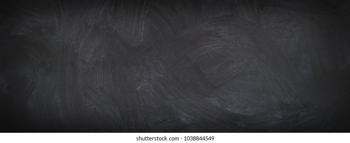 chalk board background, texture of an empty blackboard