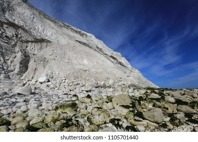 Chalk Cliff at Beachy Head, Sussex, UK