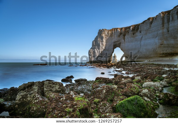 Chalk Cliffs Etretat Normandy France Natural Stock Photo Edit Now