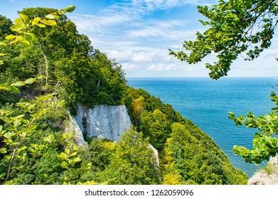 Chalk cliffs of Rugia, Germany
