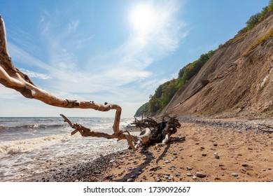 Chalk Coast of Ruegen Island, German Baltic coast