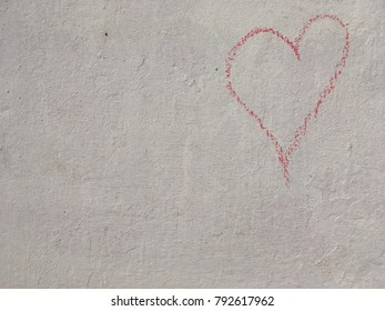 Chalk Heart outline top right