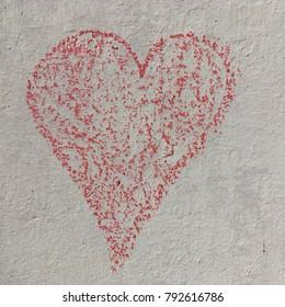 Chalk heart square