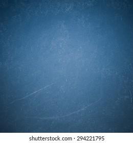 Chalk rubbed out on blue blackboard